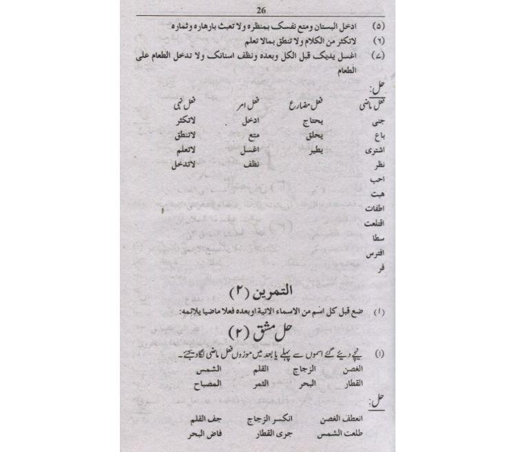 Nahw Al Wadih English Pdf
